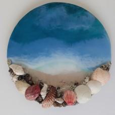 """Картина """"Карибское море"""", 30 см"""