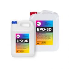Прозрачная смола для полов Epo-3D 15 кг