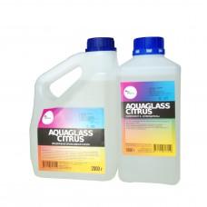 AquaGlass Citrus 3000 грамм (прозрачная эпоксидная смола)